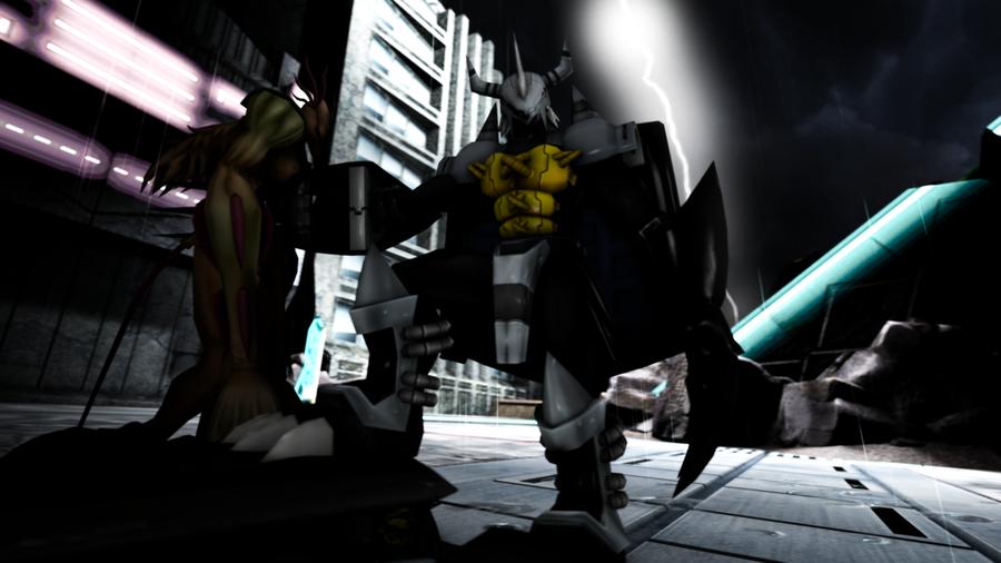 Digimon - BlackWarGreymon + ChaosBlackWarGreymon