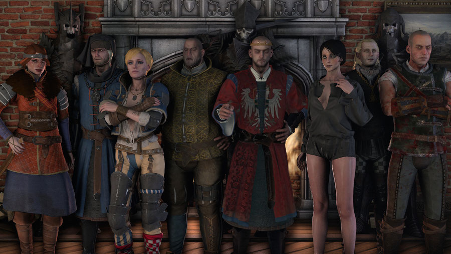 The Witcher 3 Character Pack 2