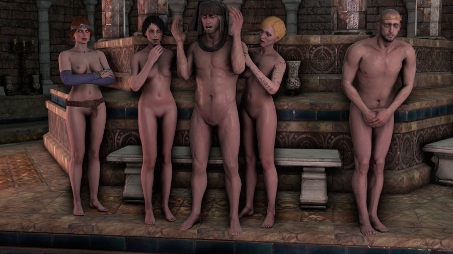 The Witcher 3 Nude Character Pack 2