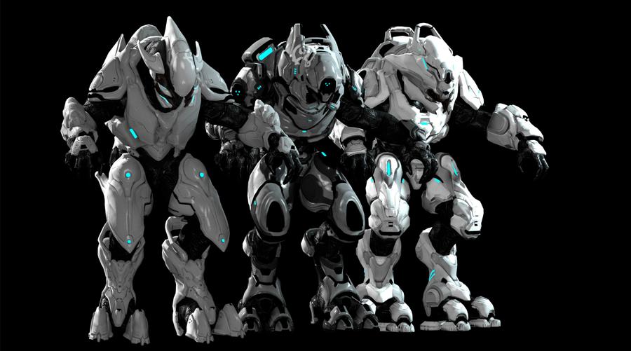 Colorable Elites MP - Halo 2 Anniversary