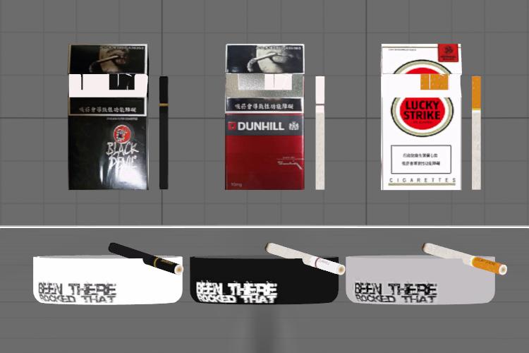 Cigarette Props