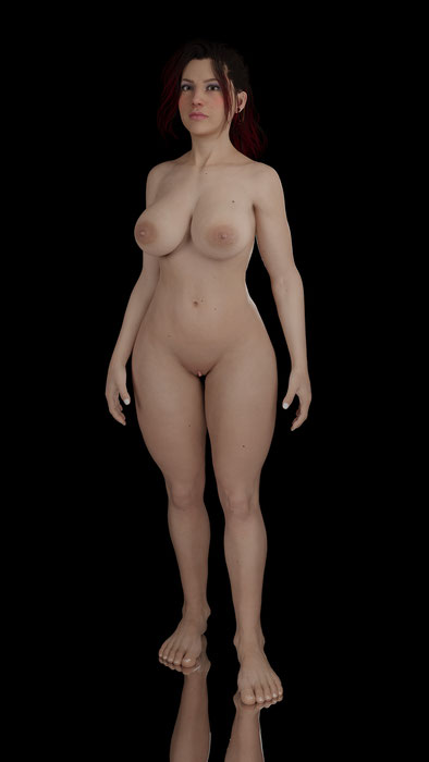 Claire Russell HD [Cyberpunk 2077] + Ripple Bone
