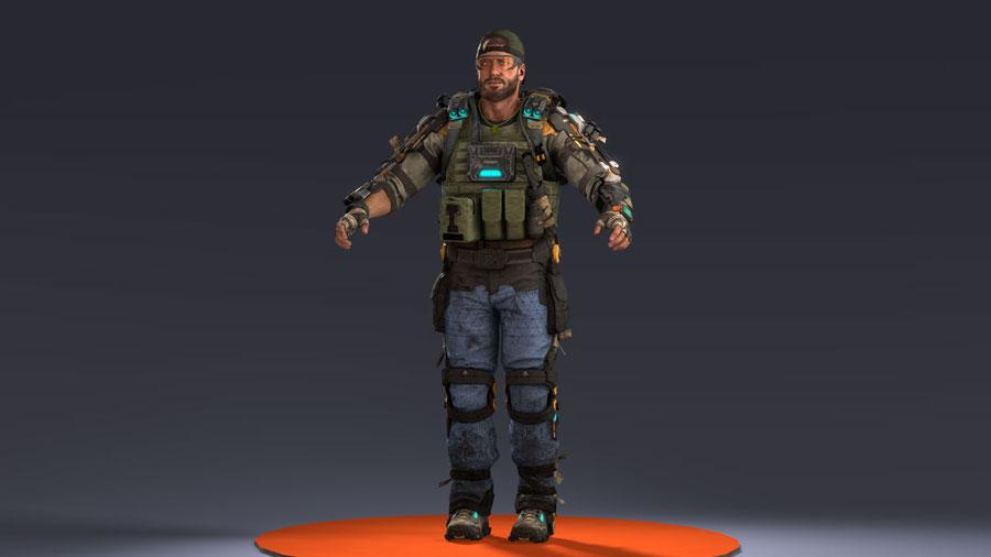"[ Call of Duty: Black Ops 3 ] Tavo ""Nomad"" Rojas (Default)"