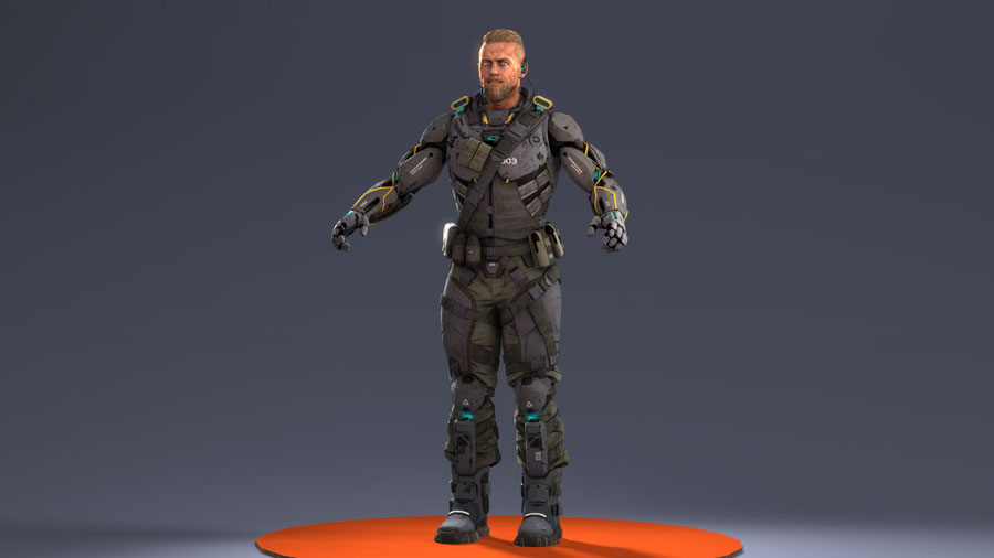 """[ Call of Duty: Black Ops 3 ] Donnie """"Ruin"""" Walsh  (Default)"""