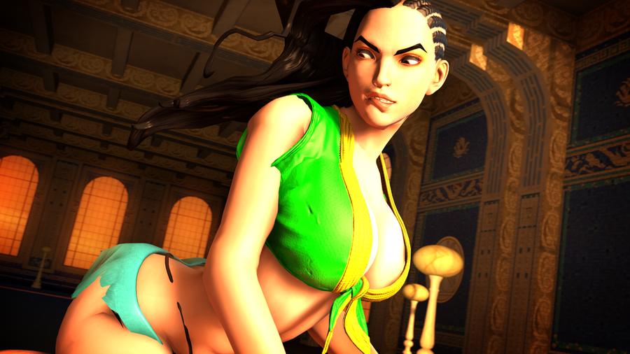 Comissair's Laura (Street Fighter V)