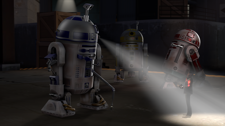 Star Wars Enhanced R2-D2 Astromech Droid