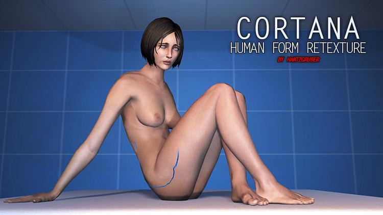 Cortana Human Form