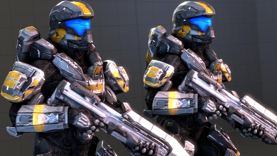 Halo 4 - Campaign Spartans