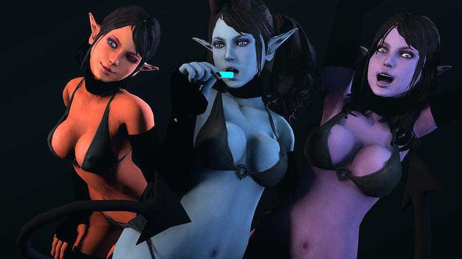 Custom Demoness