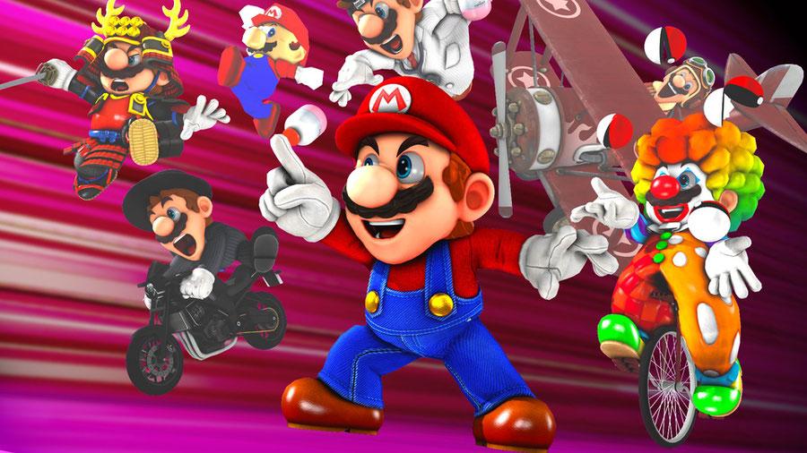 Super Mario Odyssey: Mario Pack