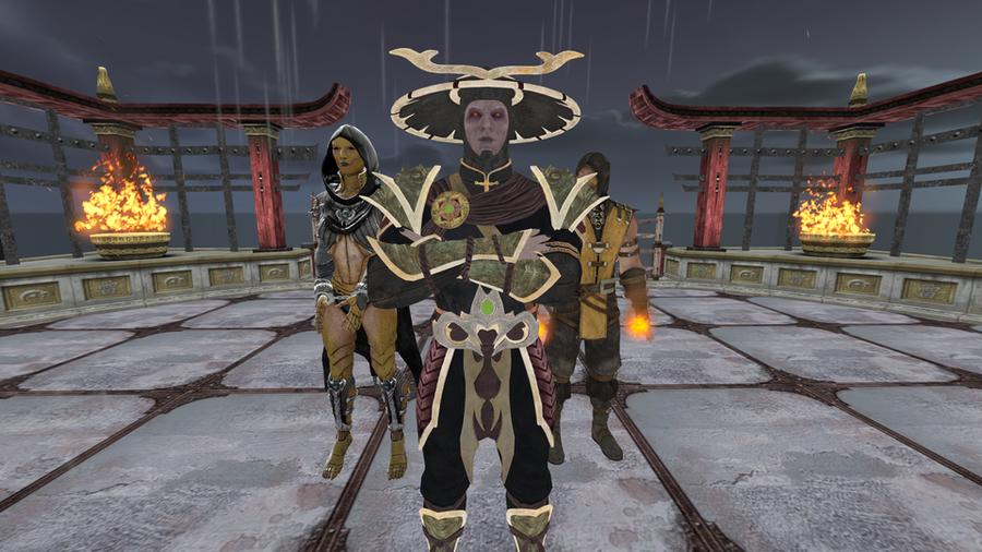 Dark Raiden MKX