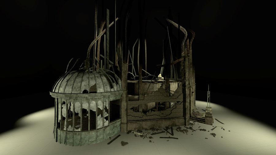 Asylum props [Dead By Daylight]
