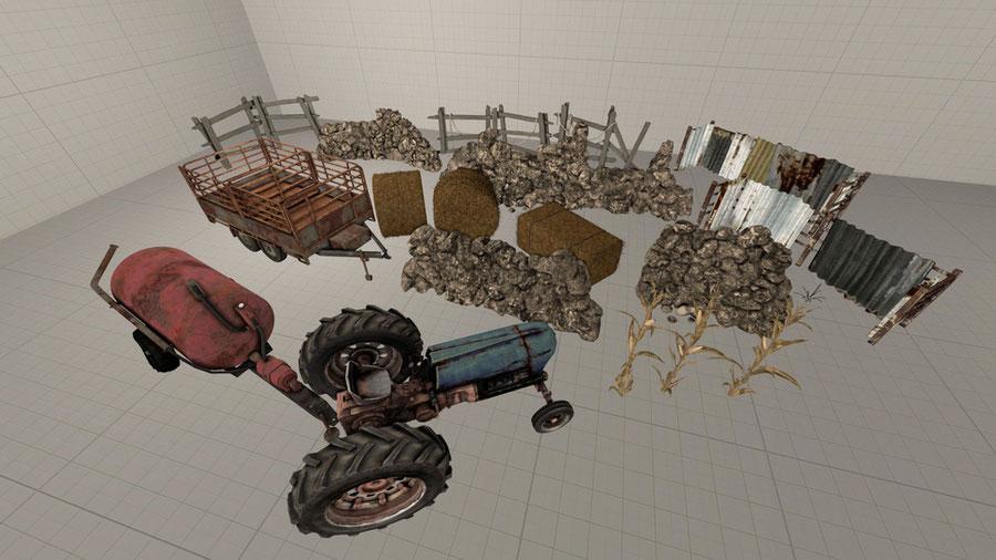 Farm props [Dead By Daylight]
