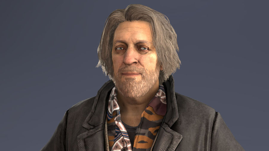 [Detroit: Become Human] - Hank Anderson snow