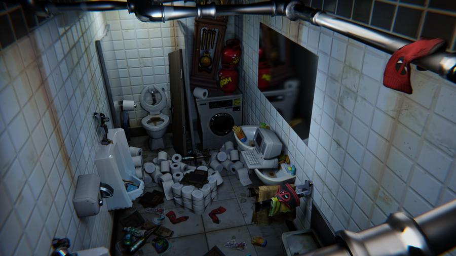Fortnite: Deadpool's Bathroom