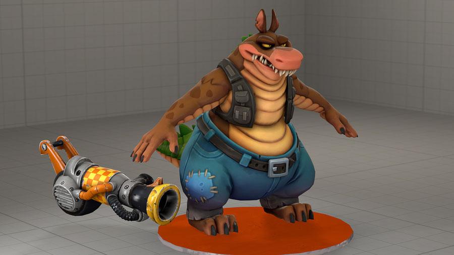 Dingodile (Crash Bandicoot 4)