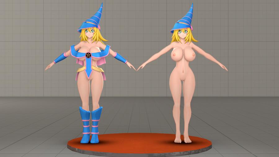YuGiOh - Dark Magician Girl