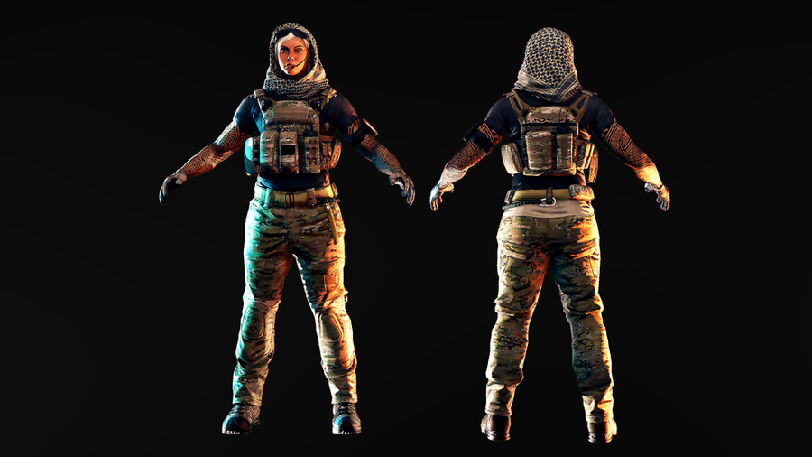 [R6S] Valkyrie - Dust line - Navy Seal