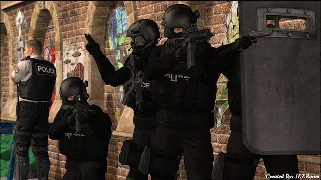 Ready Or Not Swat models