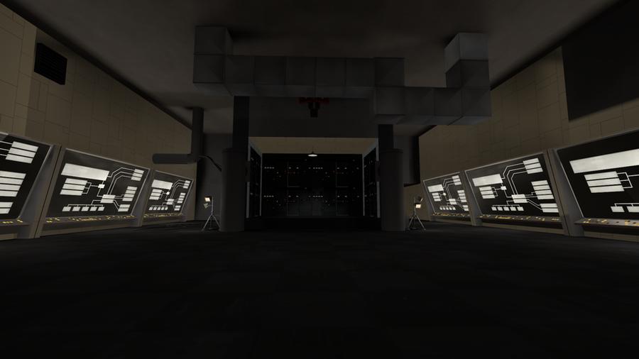 Doom - E1M1 (Hangar) - TF2 Style