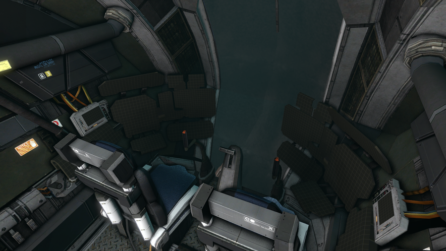 Dead Space 2 - EarthGov Gunship