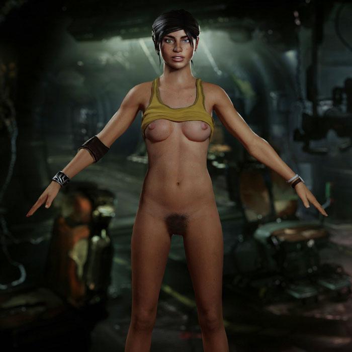 hantzgruber's Ellie Langford - Dead Space 3