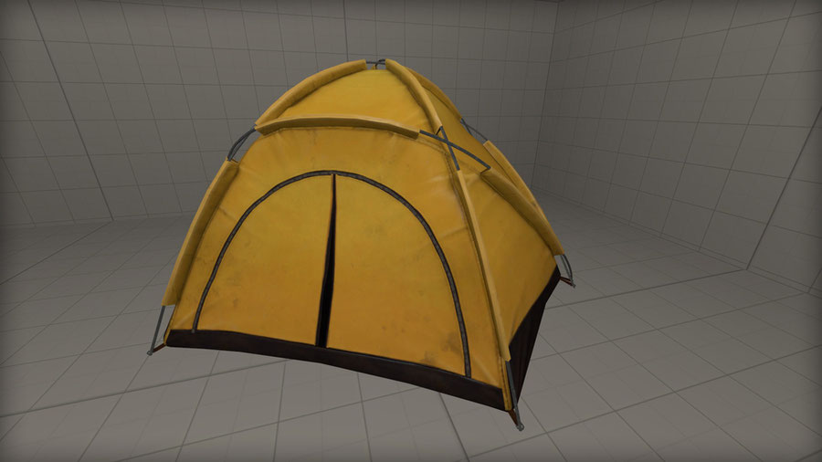 Camp tent [Friday the 13th]