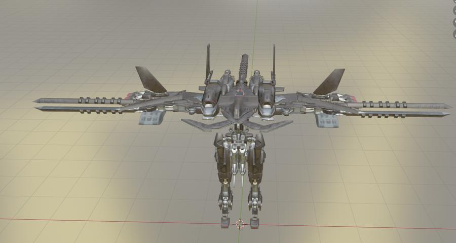 NieR Automata flight units