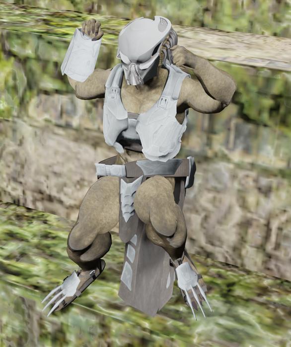 Yautja Female Upgraded Predator