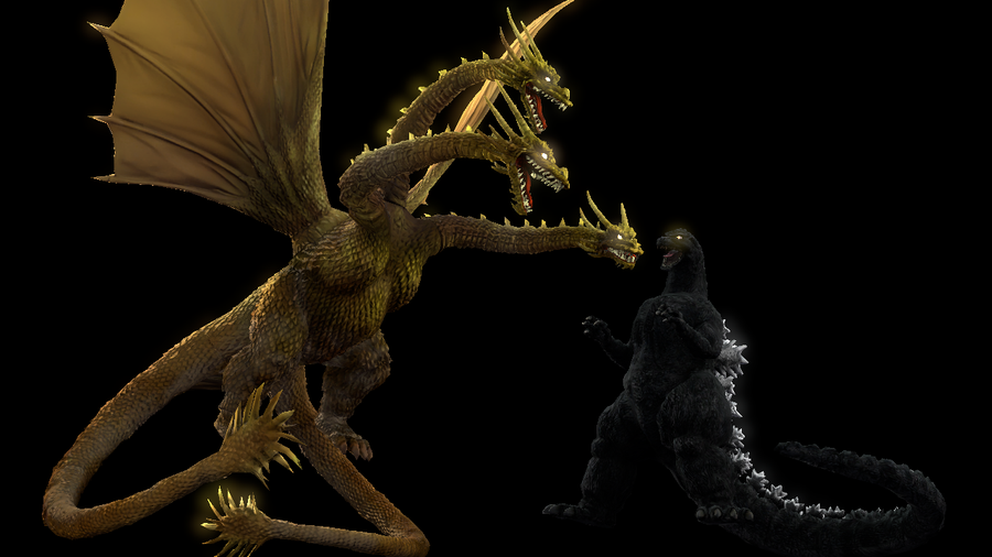 PS3/4: King Ghidorah