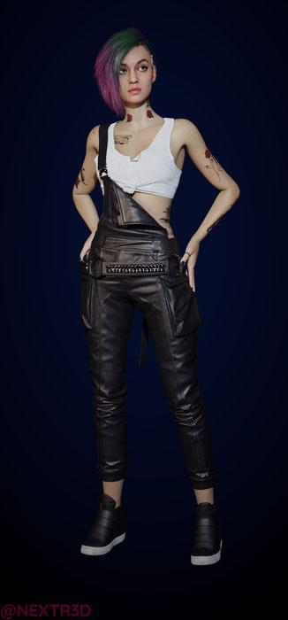 Judy Alvarez [Cyberpunk 2077]