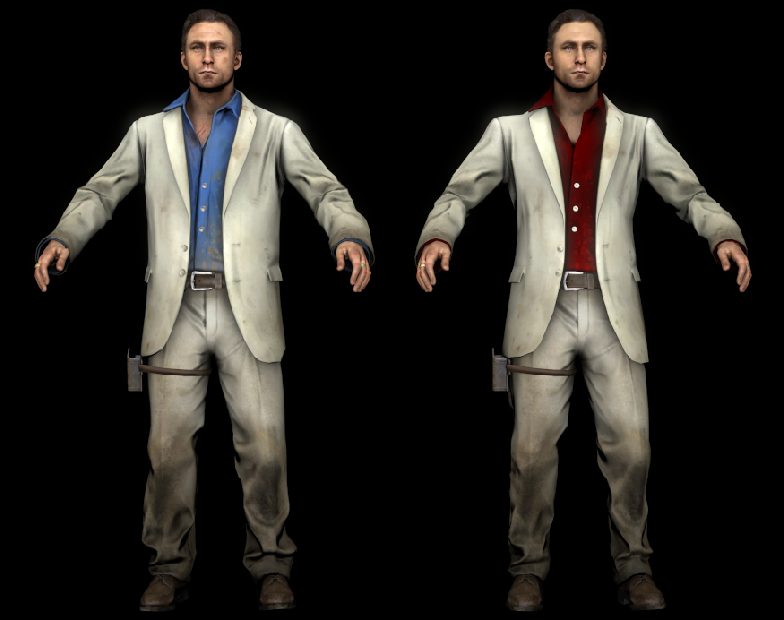 Left 4 Dead 2 - Nick with Fixed Eyes