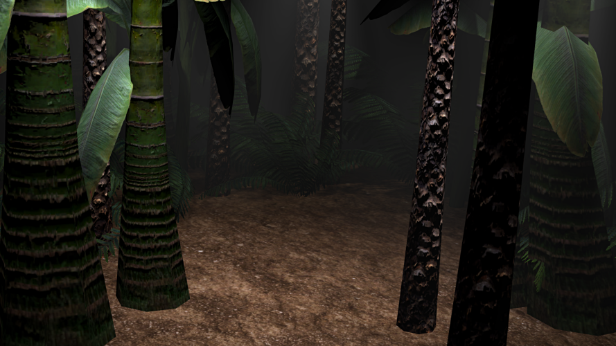 Forest Clearing - A jungle-themed prop-box