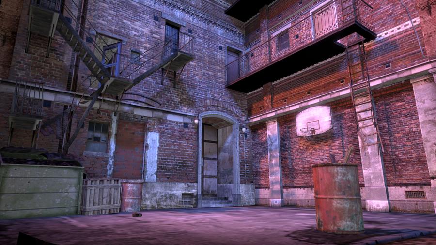 [Prop scenery] Memento Mori 2 - Backstreets