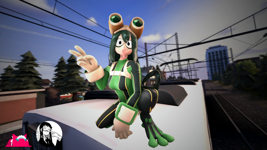 My Hero Academia: Tsuyu Asui pack