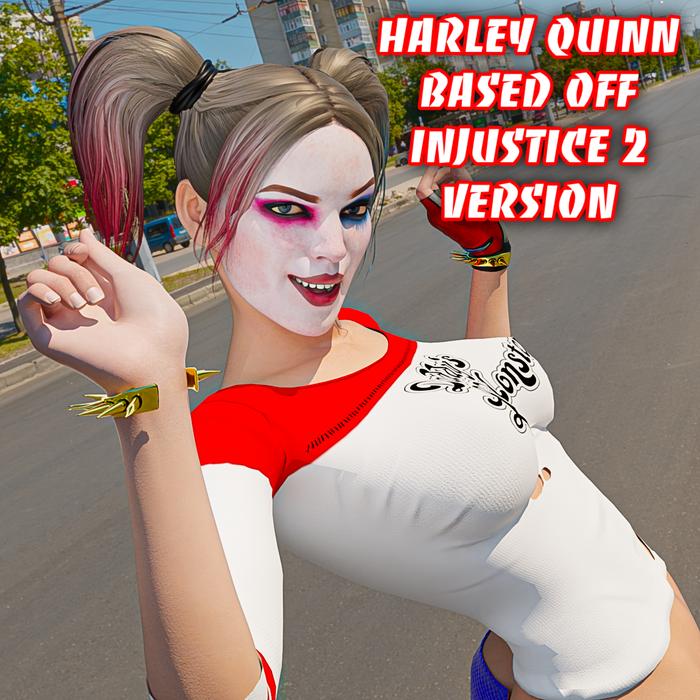 Harley Quinn Injustice Edition
