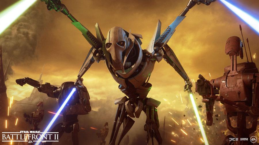 EA's Star Wars: Battlefront II - General Grievous
