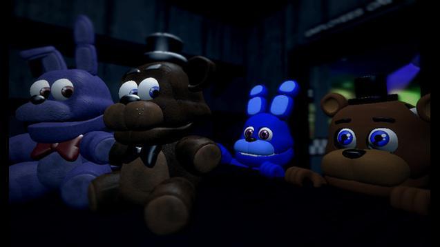 SFM AND GMOD: Adventure Freddy and Adventure Bonnie