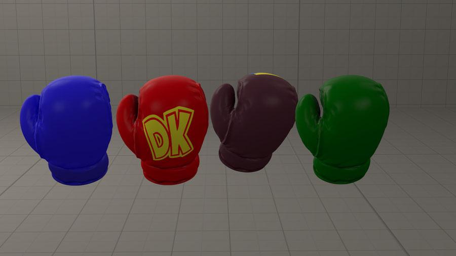 smash bros gloves