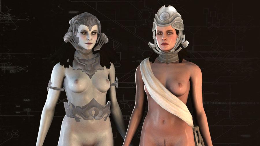 Assassin's Creed Juno and Minerva Meshmods