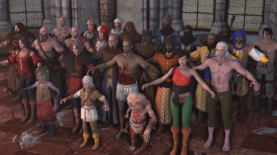 The Witcher 3 Character Pack 5