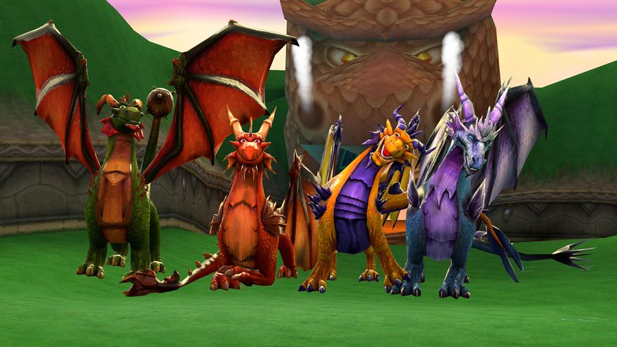 The Guardians (Spyro - Dawn of the Dragon)