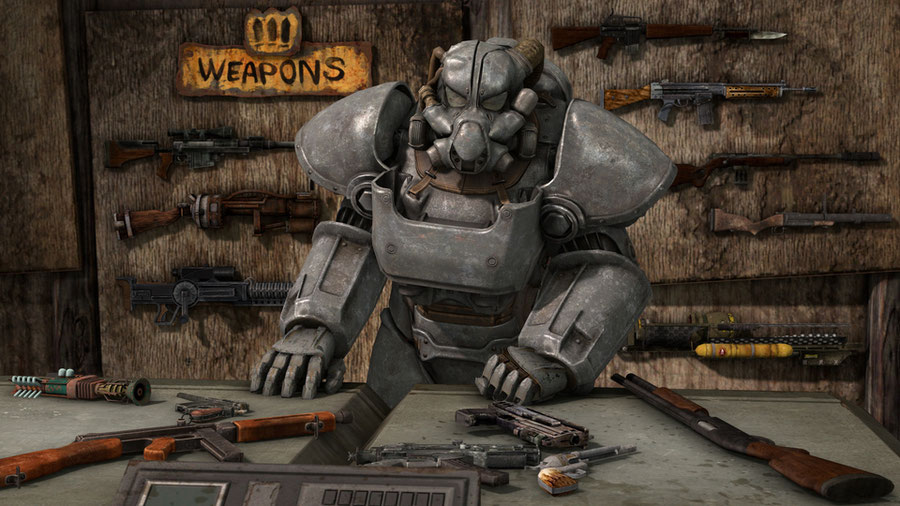 Fallout 3/4 - Weapons