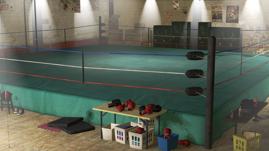 Dead Or Alive 5 Gym Map