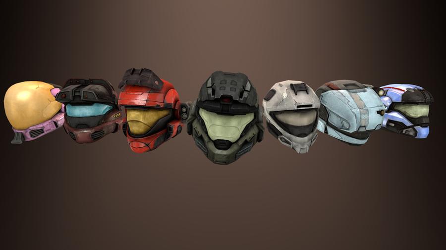 Halo: Reach - Helmets