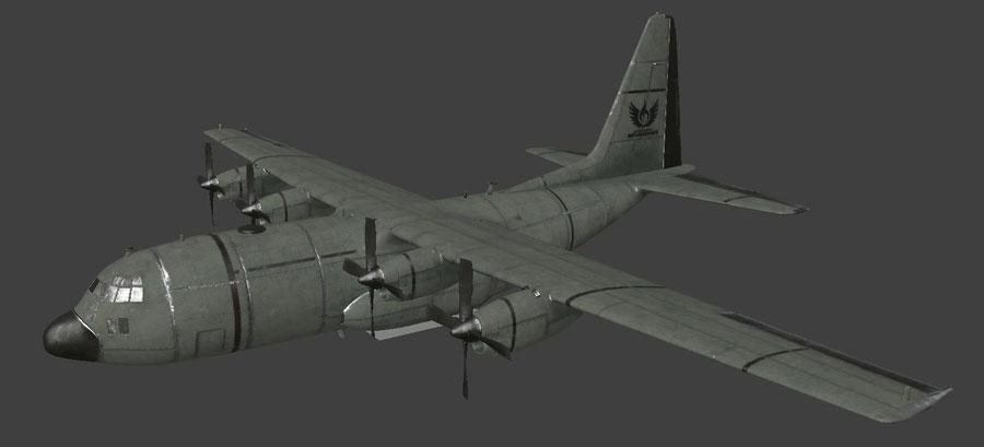 Aircraft C-130 [PUBG]