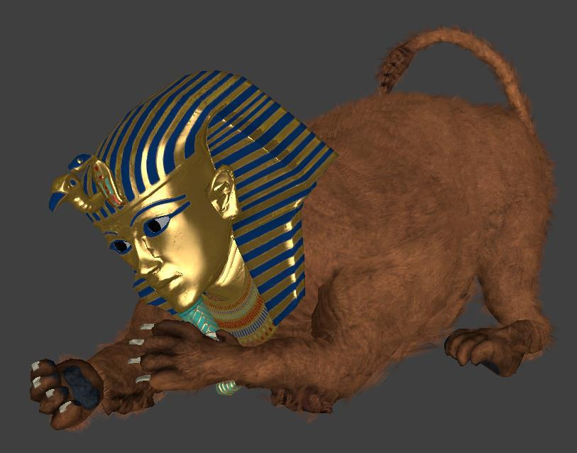 Sphynx [Rock of Ages 2]