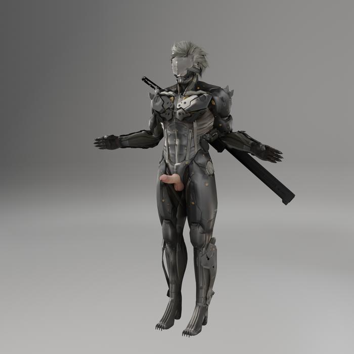 Metal-Gear Rising: Full Cyborg Raiden