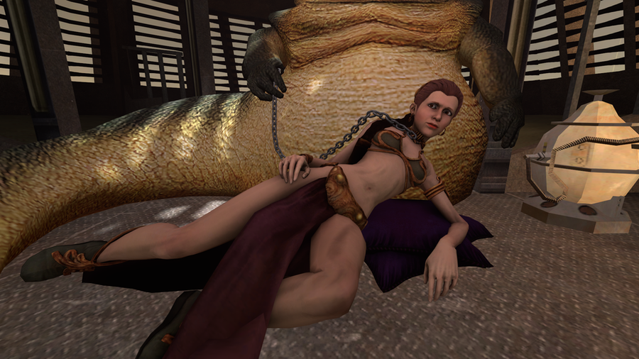 Princess Leia Nude