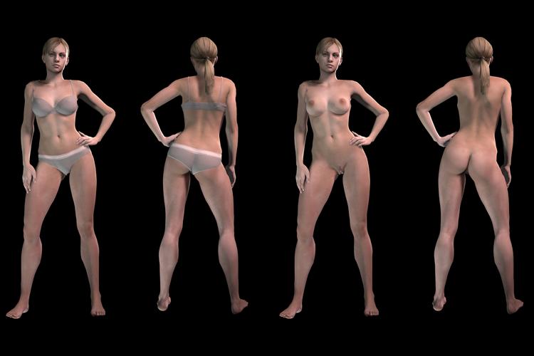 Nude Jill Valentine